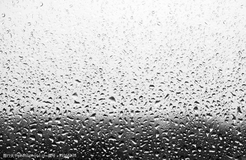 雨水雨玻璃图片