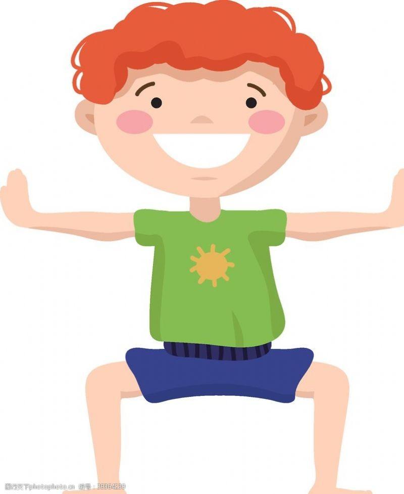 姿势瑜伽图片