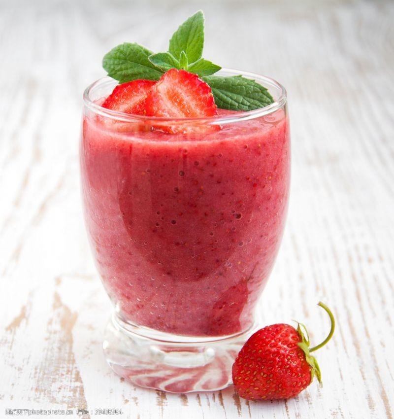 背景素材草莓奶昔饮品饮料背景海报素材图片