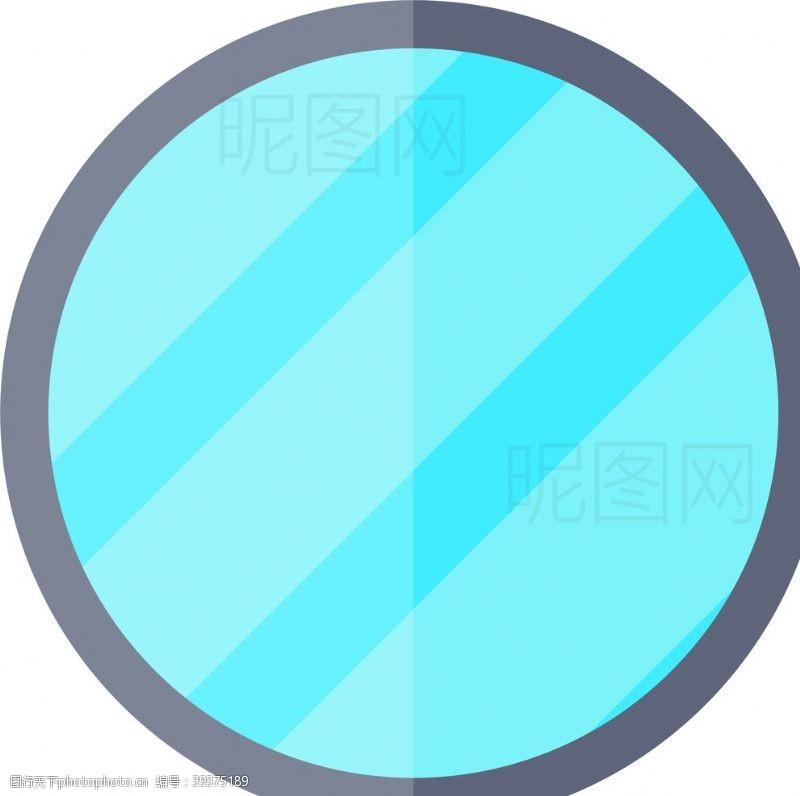 水设计镜子图片