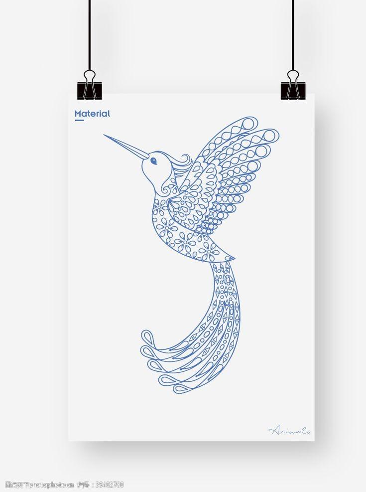卡通小鸟鸟图案图片