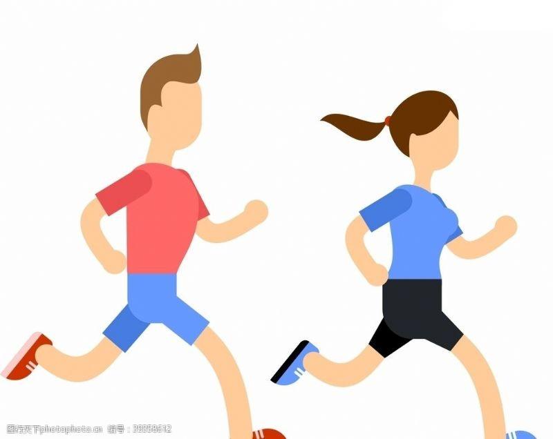 跑步运动跑步图片