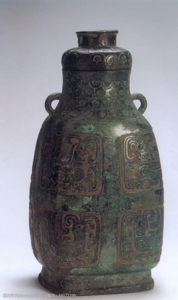 凤纹青铜壶图片