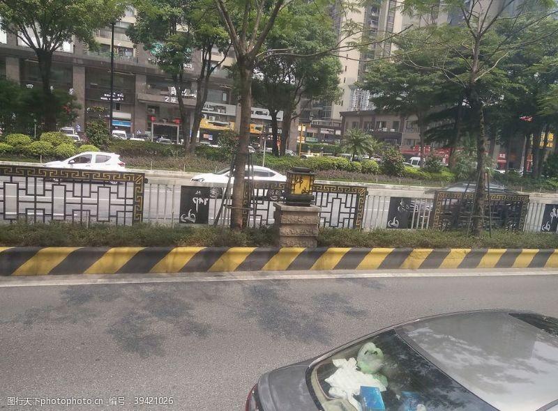 建筑围栏图片