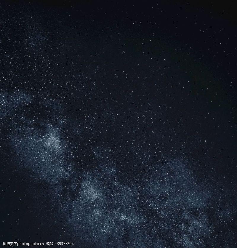 黑色背景星空图片