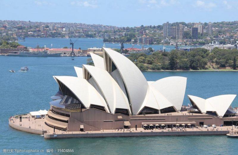 出国游悉尼歌剧院图片