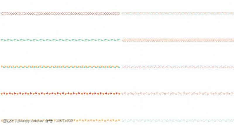 页眉分割线图片
