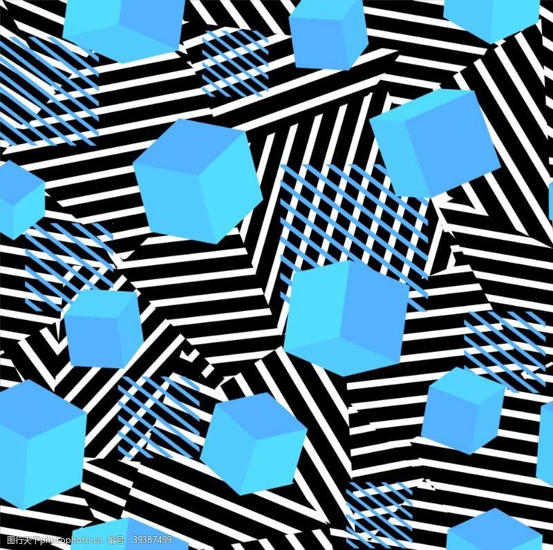 线条抽象几何图片