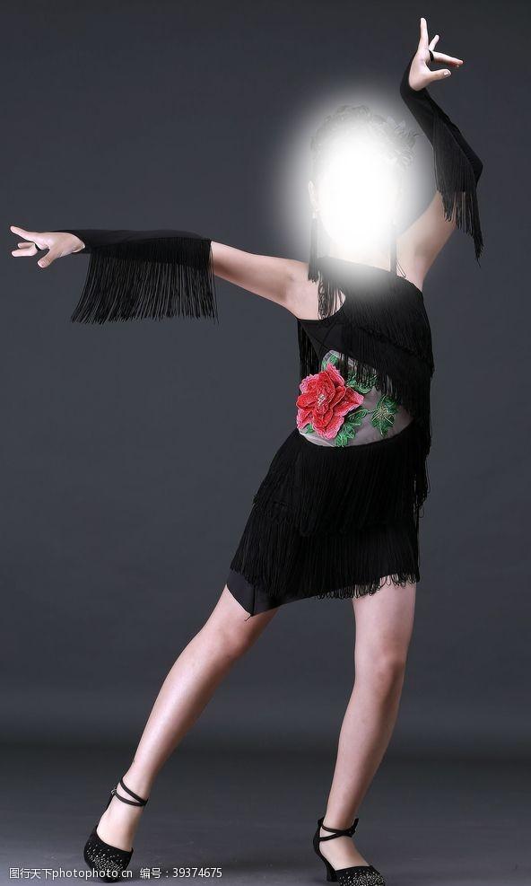 美女模特拉丁舞图片