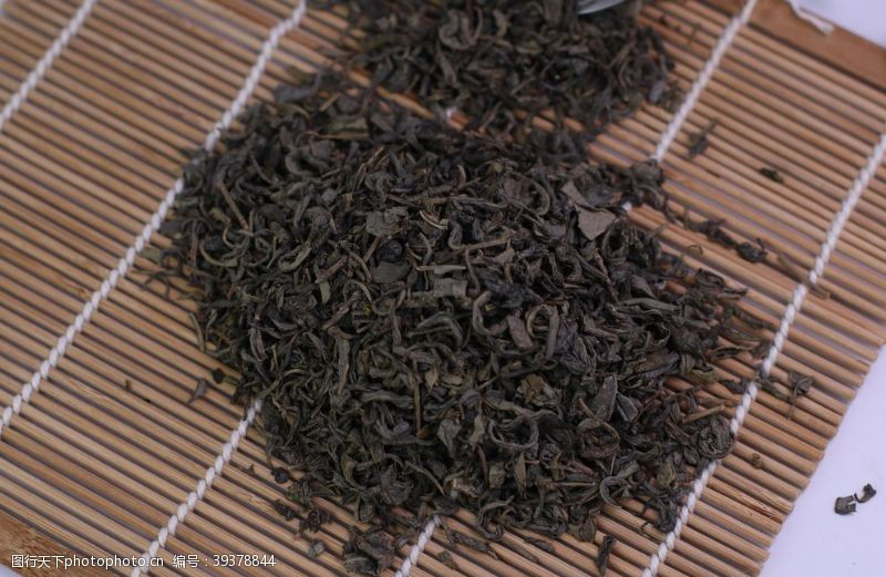 铁观音绿茶茶叶图片