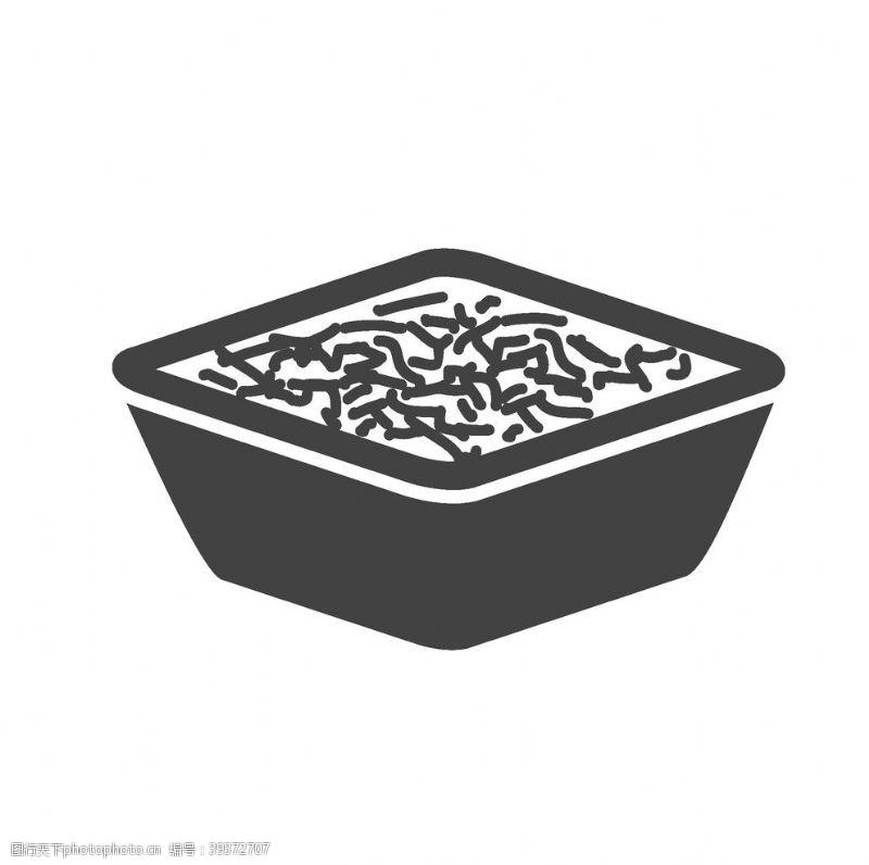 美食标签食物图标图片