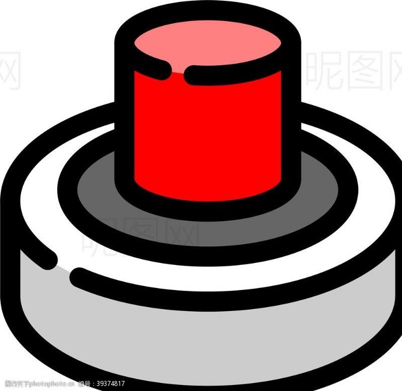 闪电按钮图片