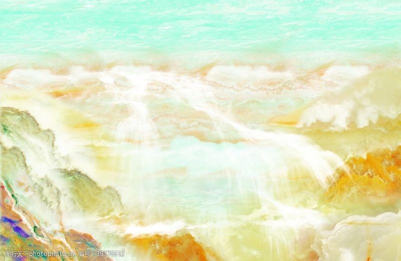 水设计大理石图片