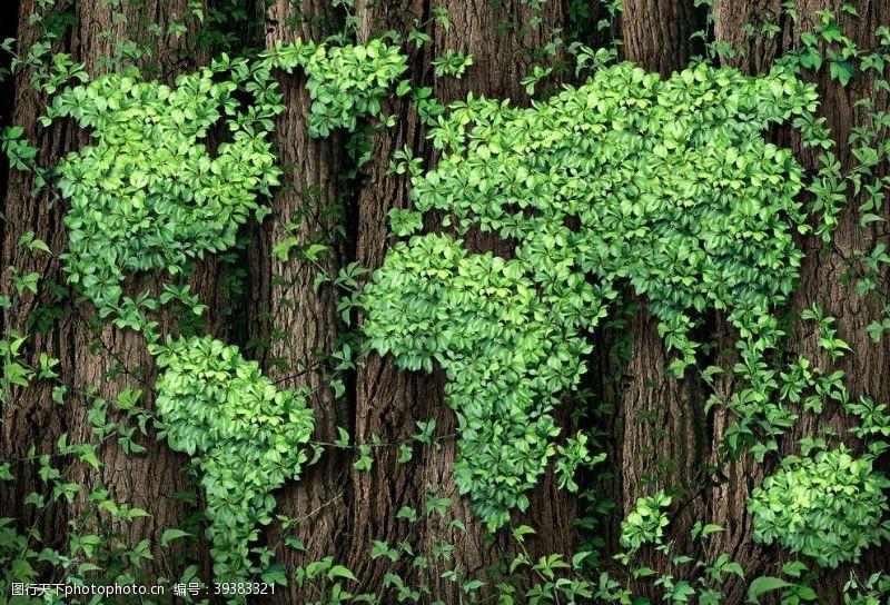 北欧高清绿色背景图片