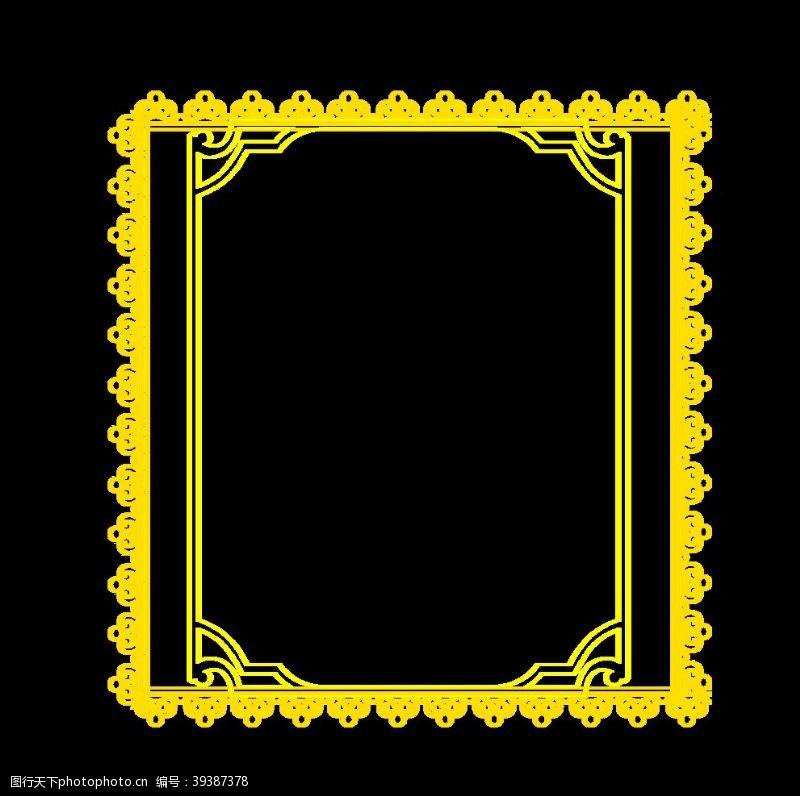 欧美设计花纹边框图片