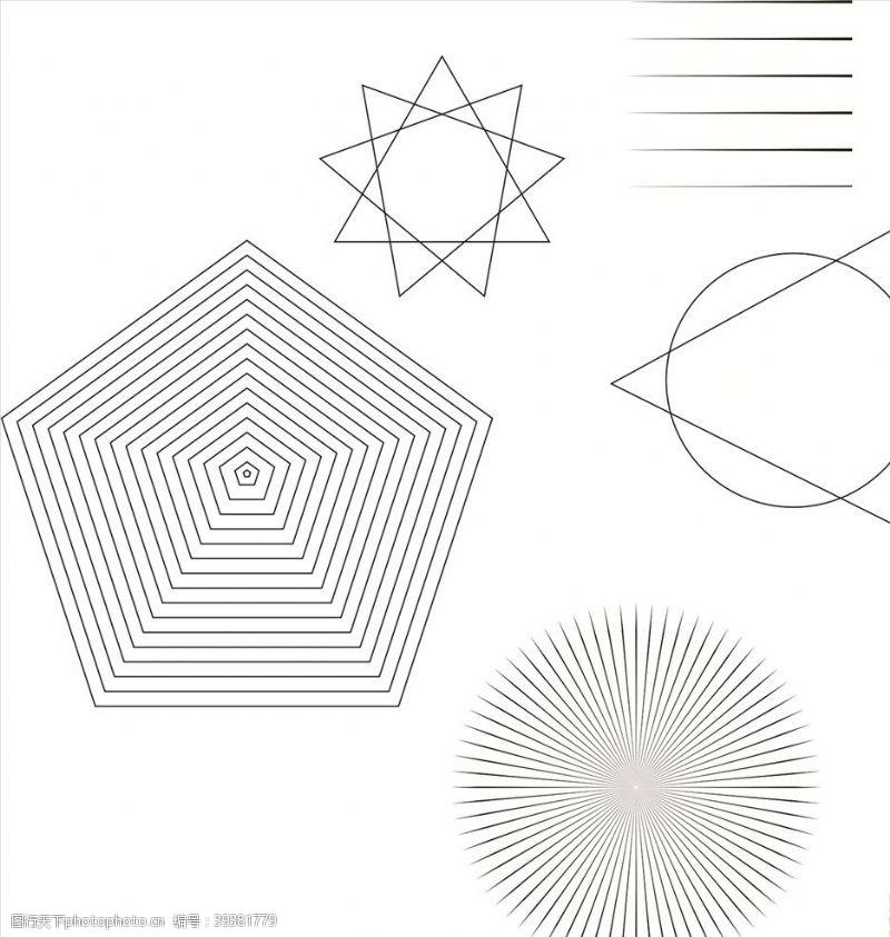 包装设计几何图形简约形状图片