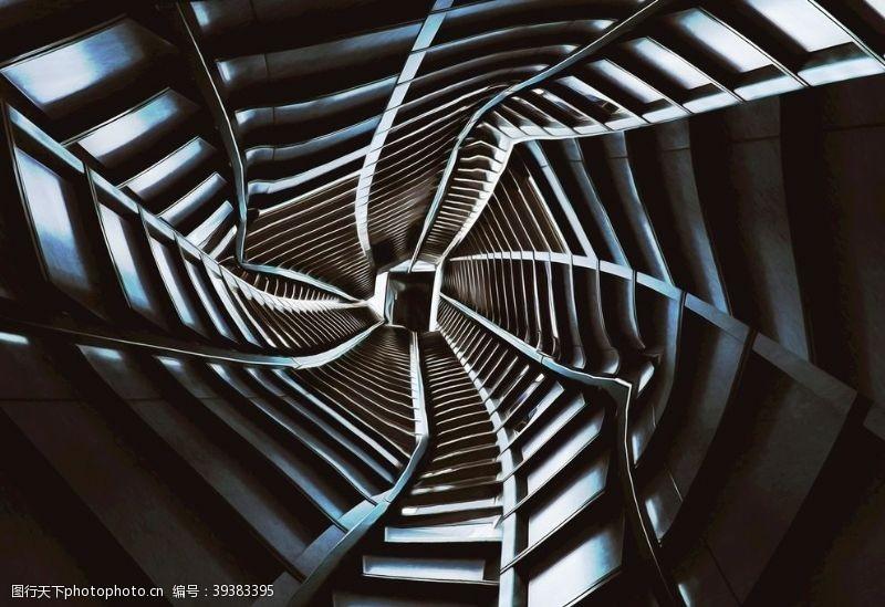 北欧螺旋金属图片