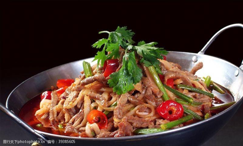 美食宣传美味干锅图片