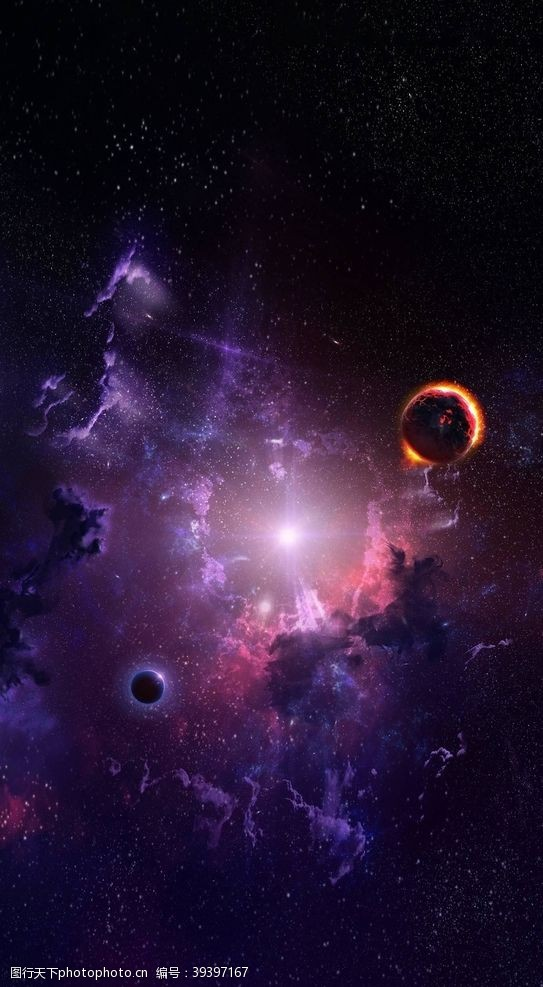 立体画宇宙星空图片