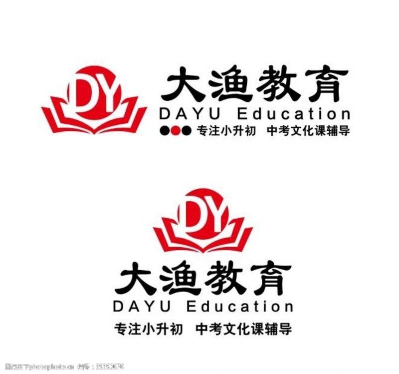 大鱼大渔教育logo图片