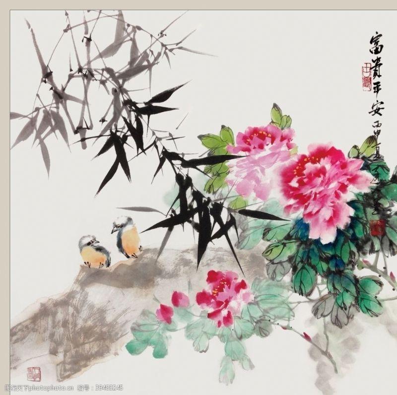 二十四节气之谷雨牡丹李达人图片