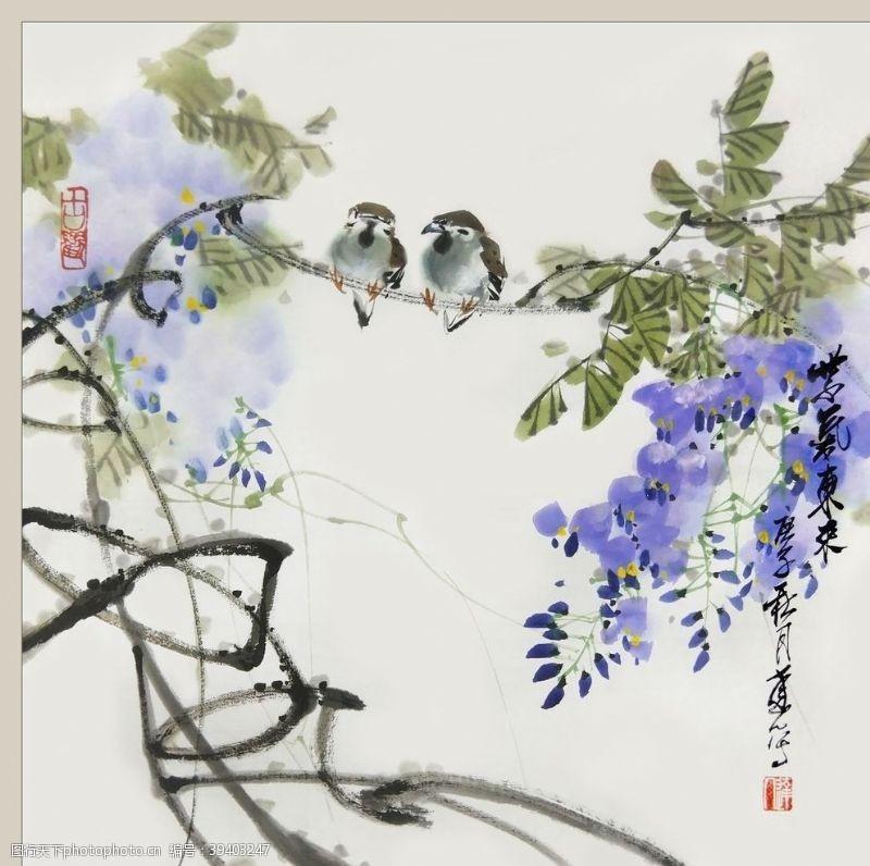 二十四节气之立夏紫藤李达人图片