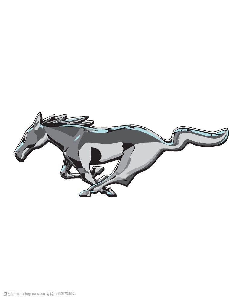 福特野马汽车logo图片