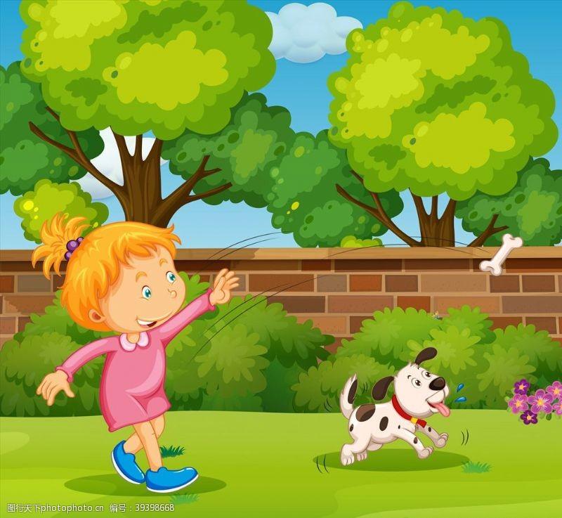 卡通设计卡通儿童图片