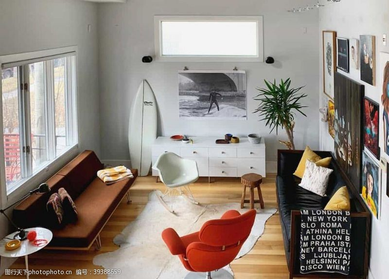 地毯客厅图片
