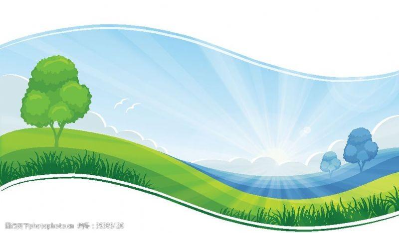 美丽背景蓝天白云图片