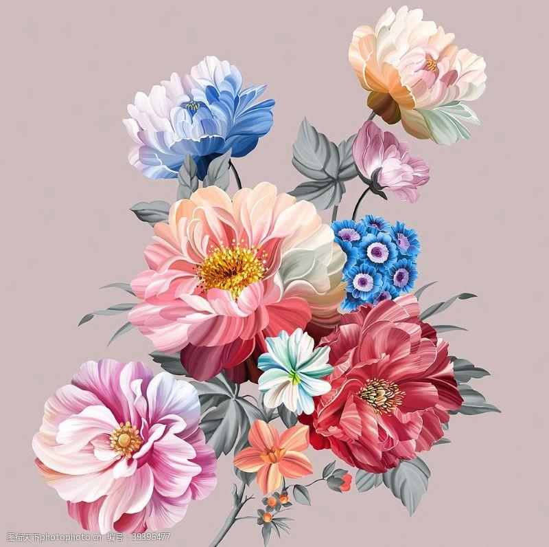 铅笔画手绘花图片