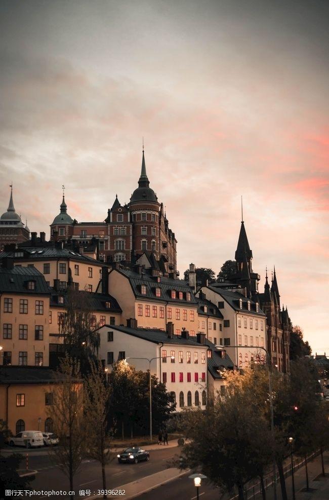 欧洲建筑小镇图片