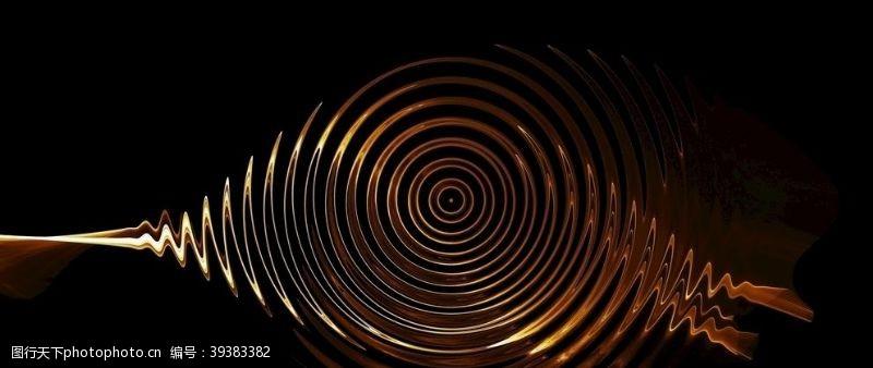 光线背景漩涡金属图片