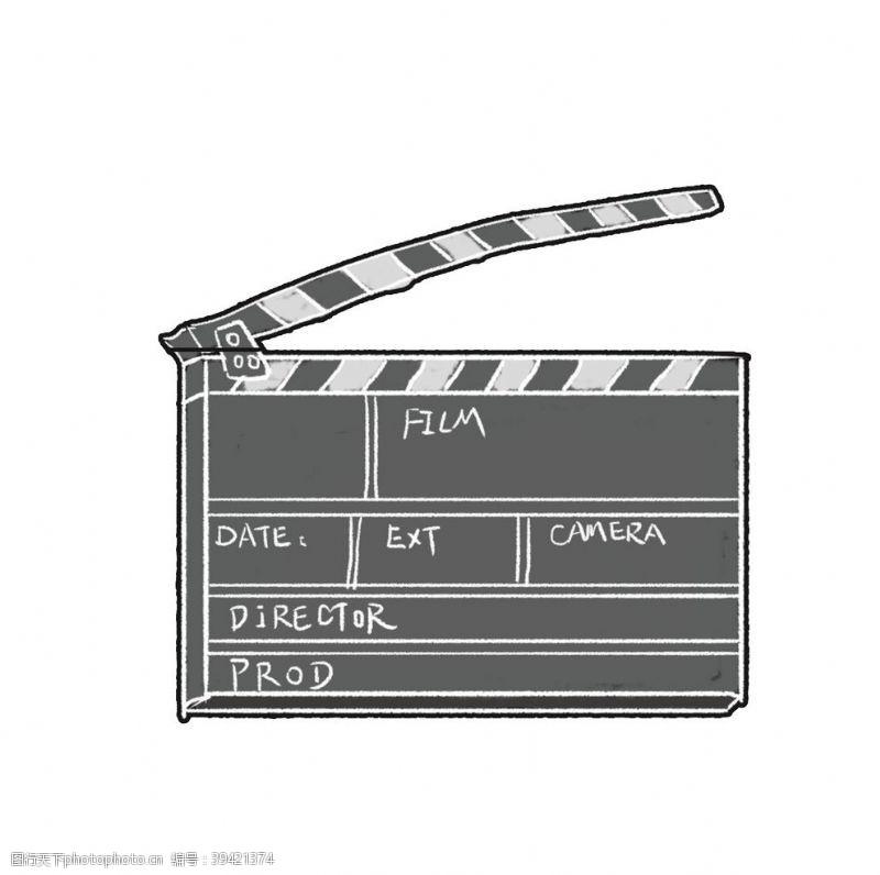 风景漫画电影装饰板图片