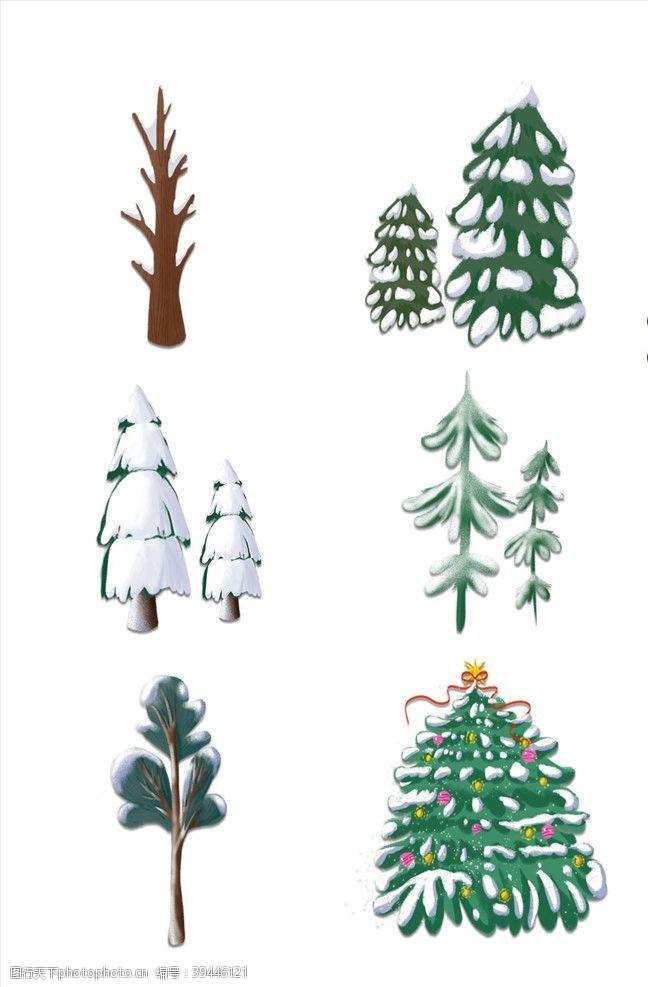 新品上市冬季树木图片