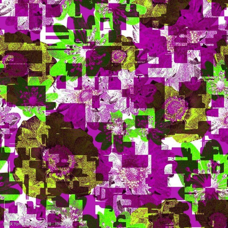 几何图形几何图案背景彩色图片