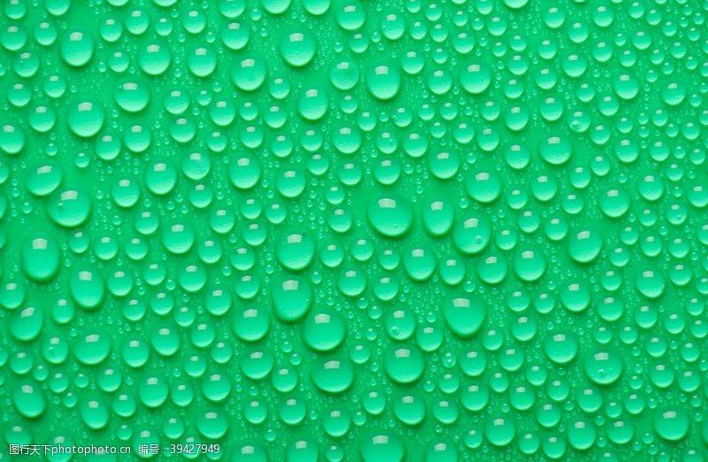 蓝色海报水滴背景图图片