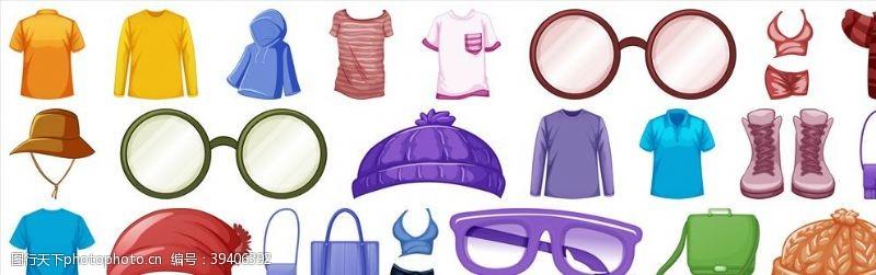 纺织品矢量服饰图片
