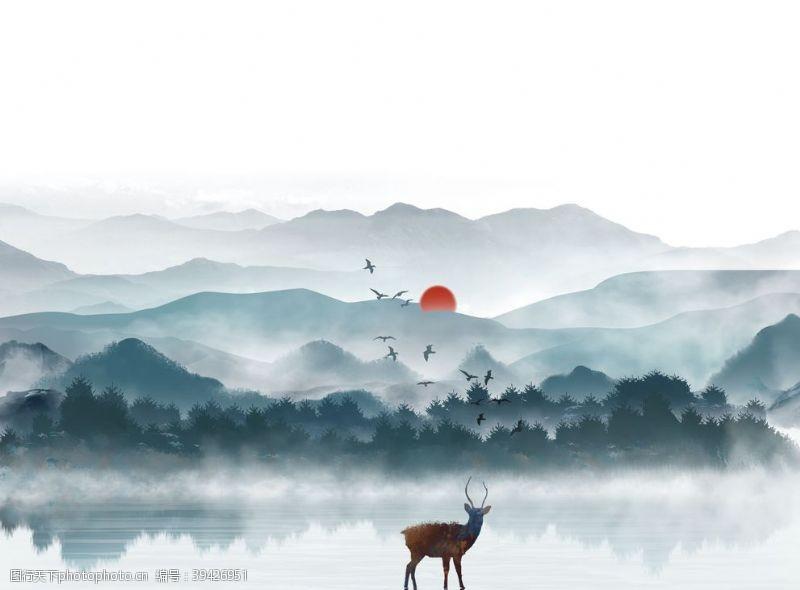 烟雾雾图片