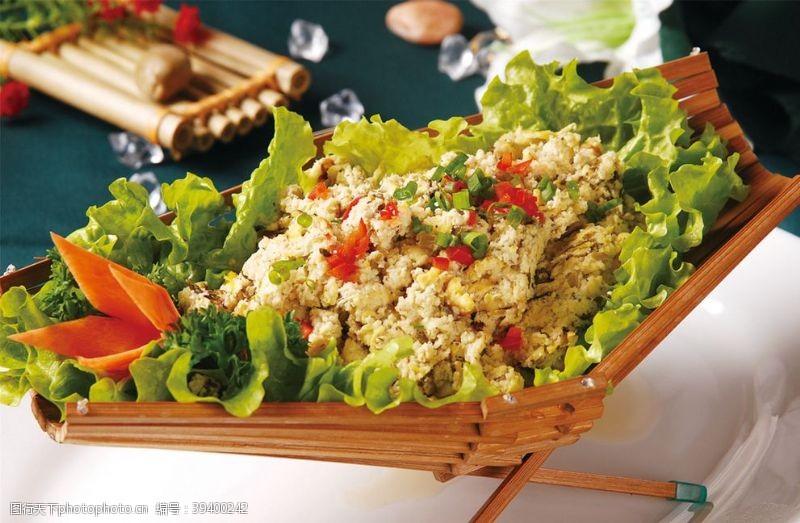 雪菜山豆腐图片