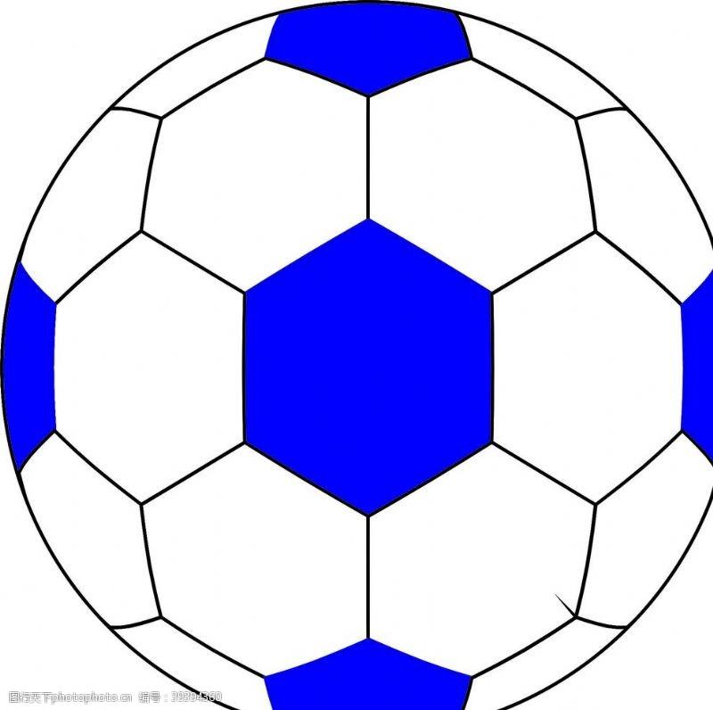 足球场足球图片
