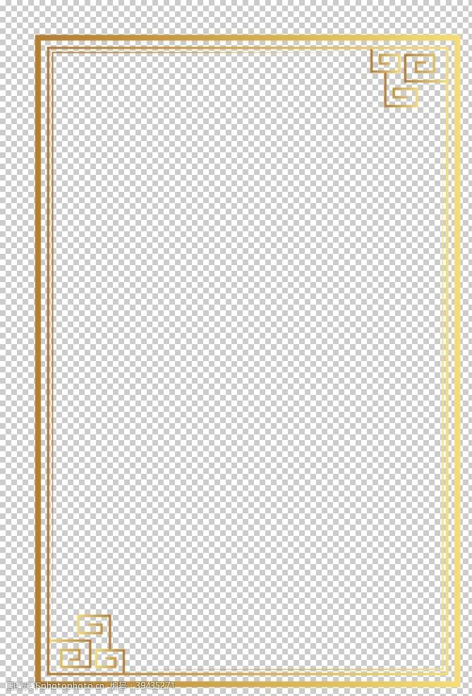 古典中式边框图片