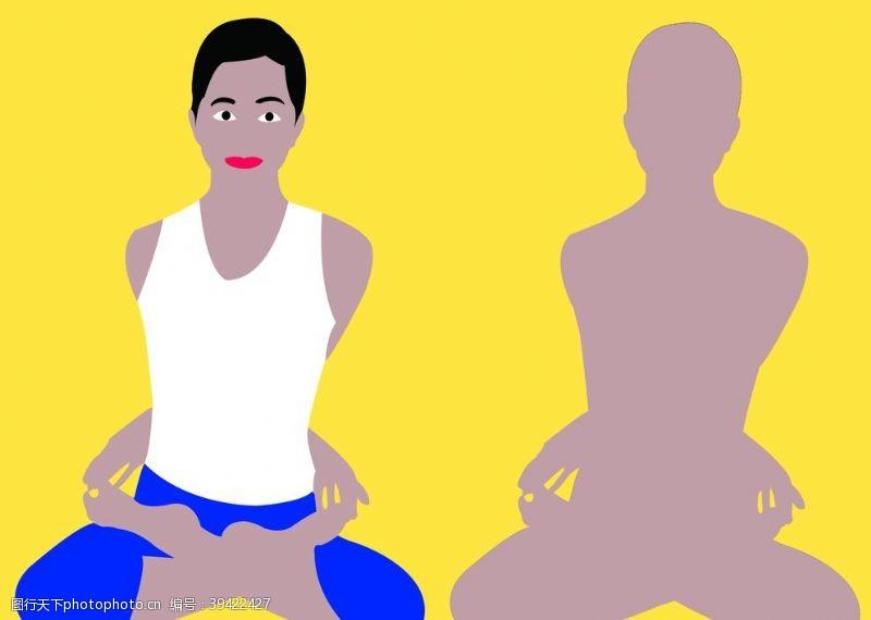健身修身闭莲式图片
