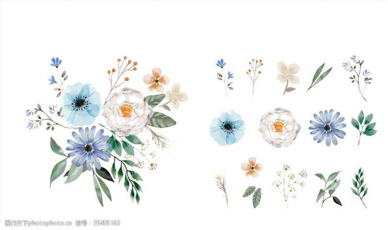 花朵和组合花束图片