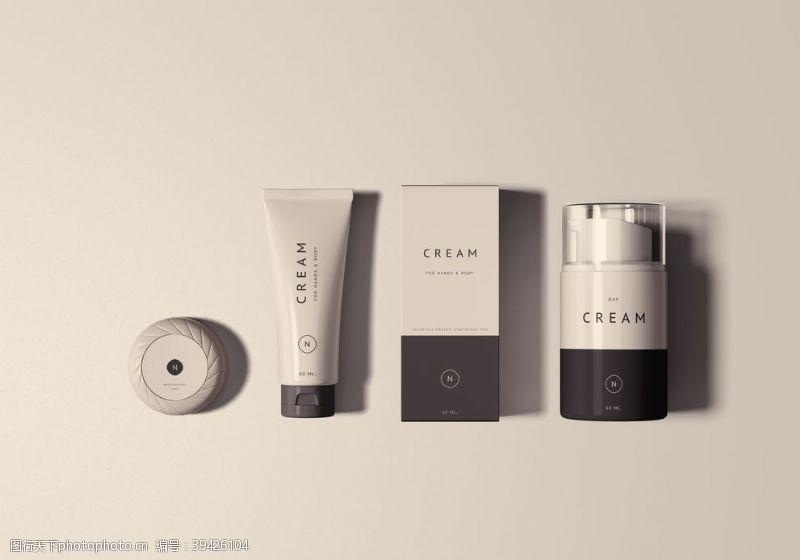 企业vi护肤品VI样机图片