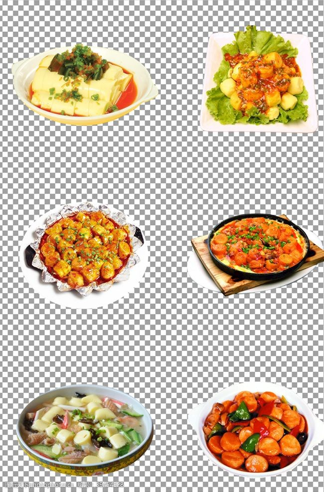 背景美味烧豆腐图片