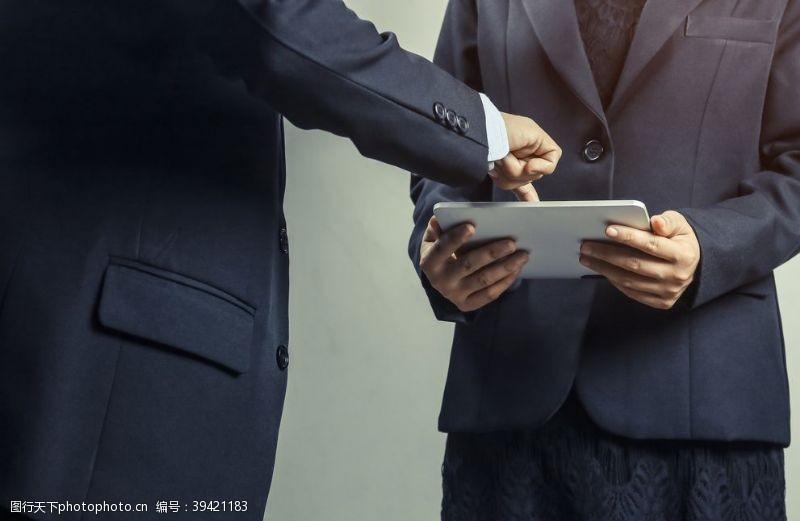 商务精英商务办公商业商业团队商务图片