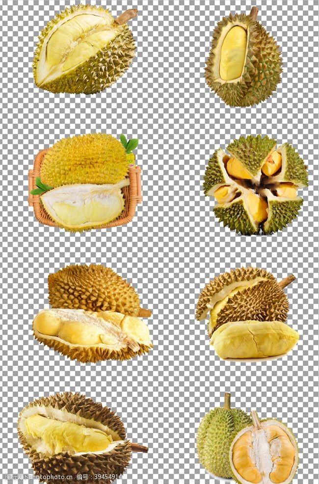 小清新水果榴莲图片