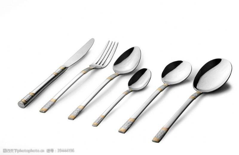 西餐餐具图片