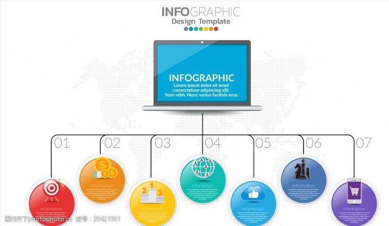 3d信息图表图片